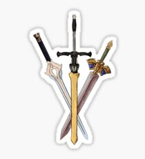 Fire Emblem - Legendary Swords Sticker