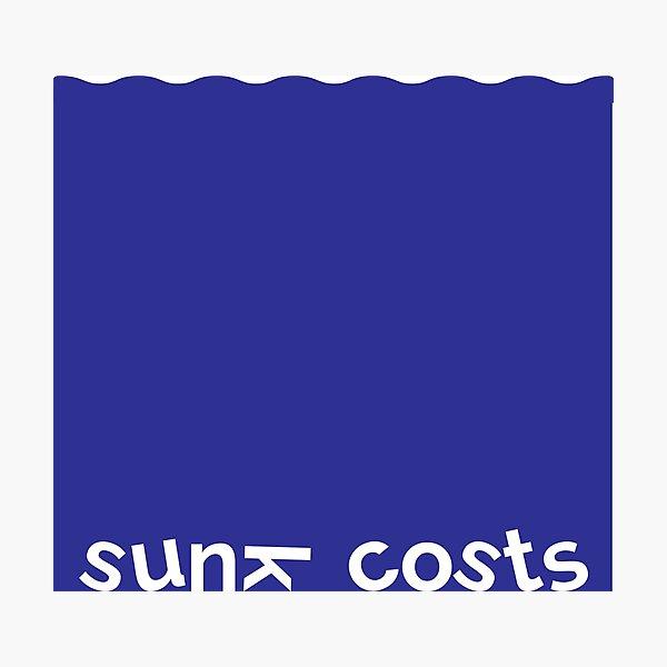Sunk costs Photographic Print