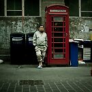 wating on a call by Tony Day