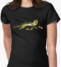 Mute Newt Women's Fitted T-Shirt