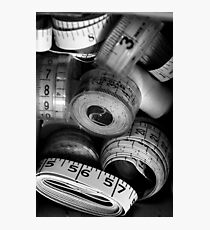 measure by measure Photographic Print