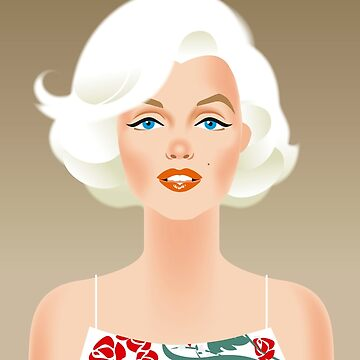Marilyn Bombshell von AleMogolloArt