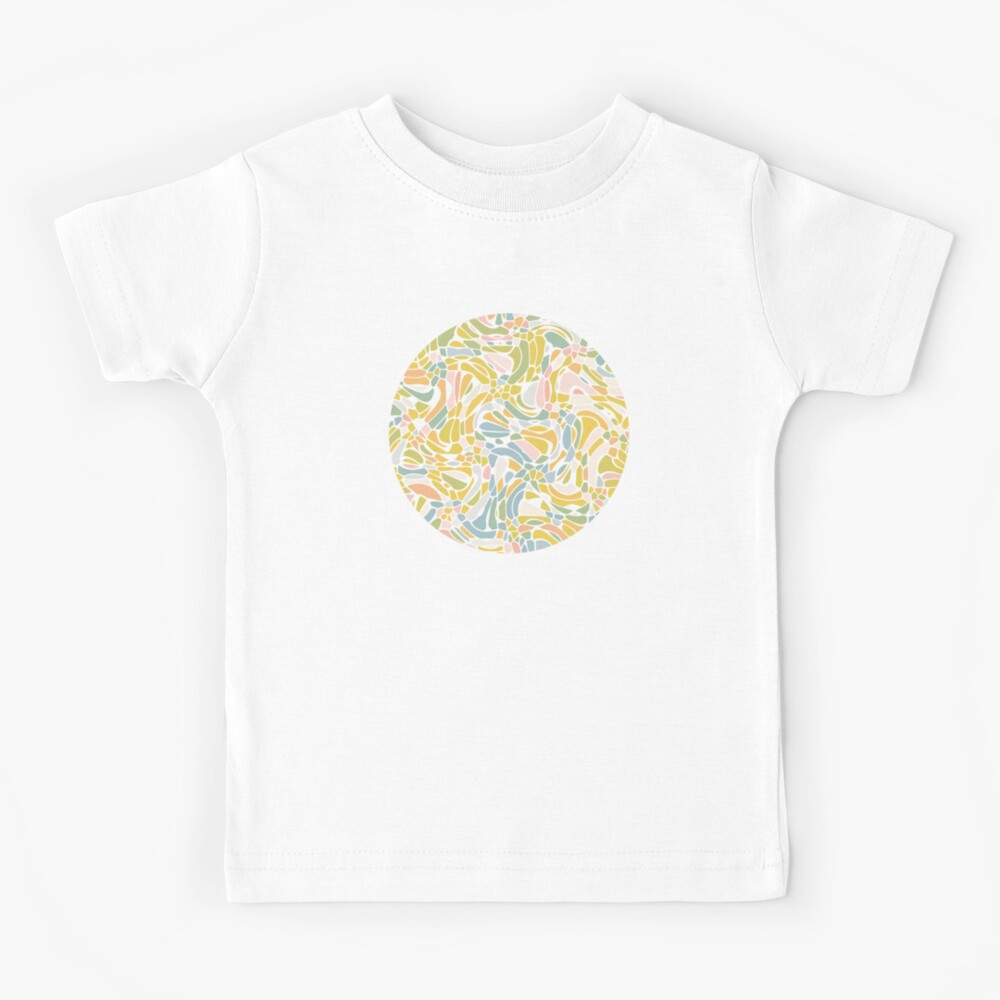 Pastel Pebbles Kids T-Shirt