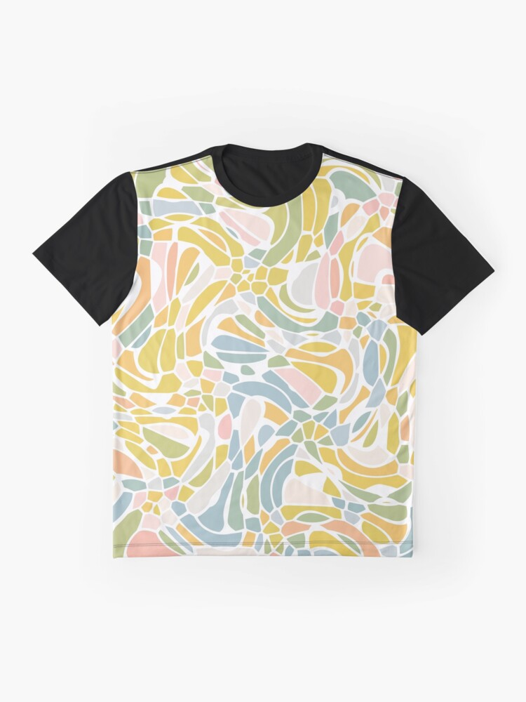 Alternate view of Pastel Pebbles Graphic T-Shirt