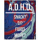 A.D.H.D. by gatofoli