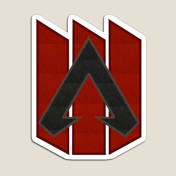 Apex Legends Logo Patch | Apex Legends Embroidered Patch Style Magnet
