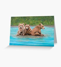 Stranded Greeting Card