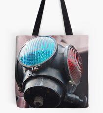 Warning Light Tote Bag