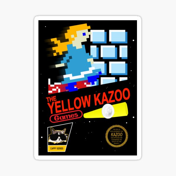 Kazoo NES Print Sticker