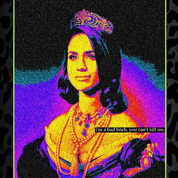 Duchess of Sussex - Neon Colors by MelanixStyles