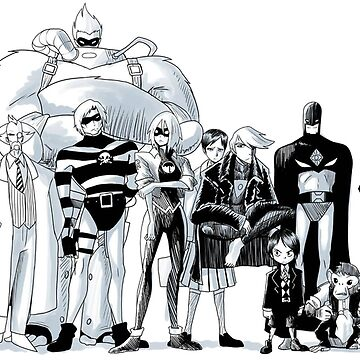 The Umbrella Academy cast sketch by thatstickerguy
