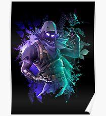 NEUE Battle Royale Raven dunkelblauer versteckter Beamter Poster