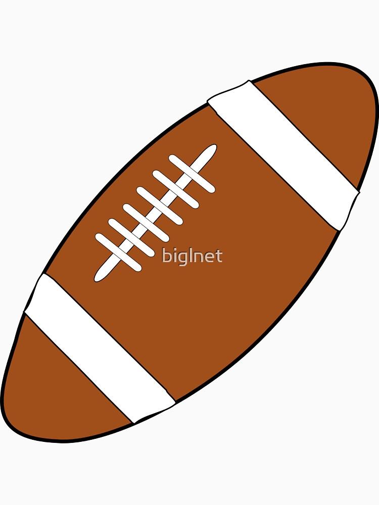 American Football Ball by biglnet
