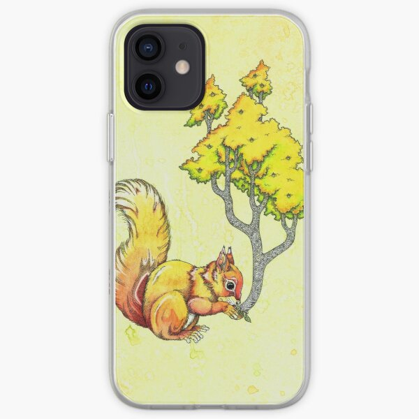 Oak Tree Squirrel iPhone Soft Case