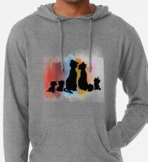 A Family that Meows Together, Stays Together Lightweight Hoodie