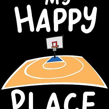 Basketball Netball Basketball Basket Court Gift by Rueb