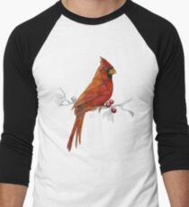 Goauche Cardinal Baseball ¾ Sleeve T-Shirt