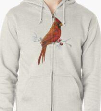 Goauche Cardinal Zipped Hoodie