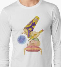 Watercolor Wizard Baby Long Sleeve T-Shirt