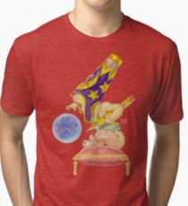 Watercolor Wizard Baby Tri-blend T-Shirt