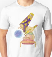 Watercolor Wizard Baby Slim Fit T-Shirt
