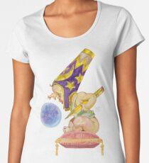 Watercolor Wizard Baby Premium Scoop T-Shirt