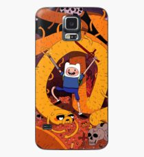 adventure time Case/Skin for Samsung Galaxy