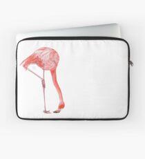 Watercolor Flamingo  Laptop Sleeve