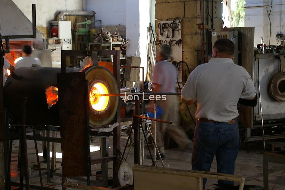 Ornamental Glass making in Malta by Jon Lees