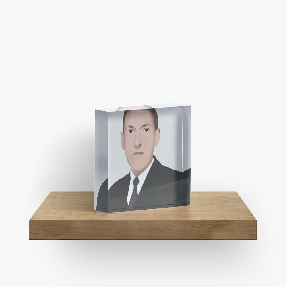 H.P. LOVECRAFT Illustration Acrylic Block