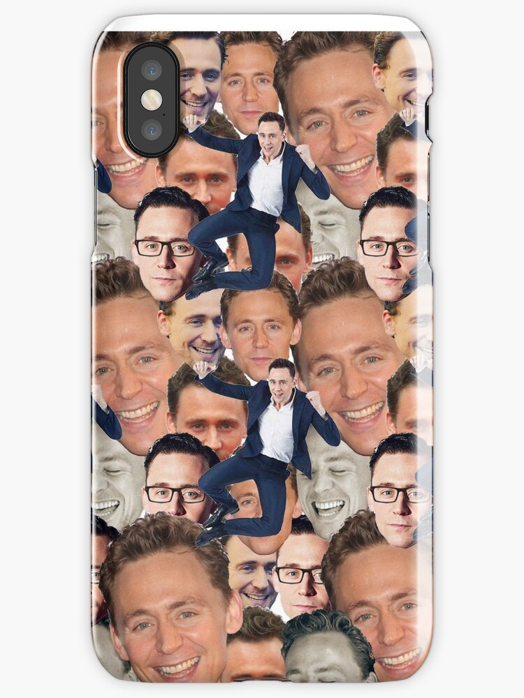 Tom Hiddleston Faces by Misha The Pig