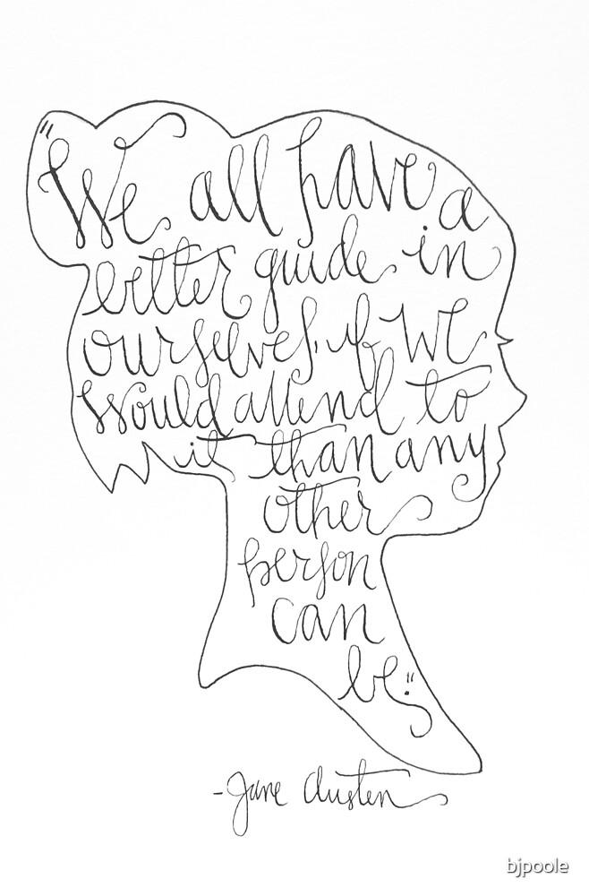 Jane Austen by bjpoole
