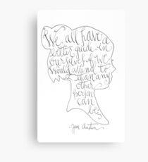 Lienzo Jane Austen