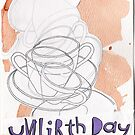 A Very Merry Unbirthday Card by Blackbird76