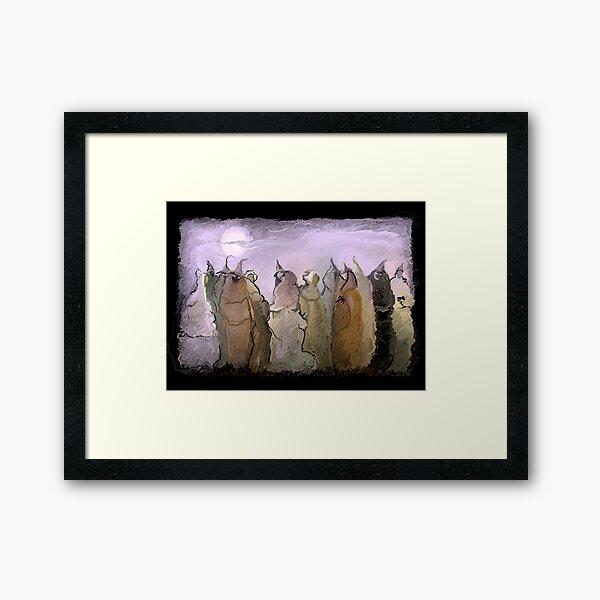 Aquelarre Framed Art Print