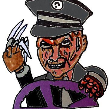 BUS DRIVER FREDDY by MattisMatt83
