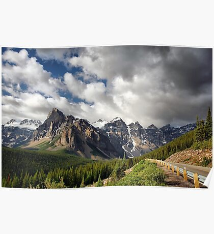 Valley of the Ten Peaks, Banff NP Poster