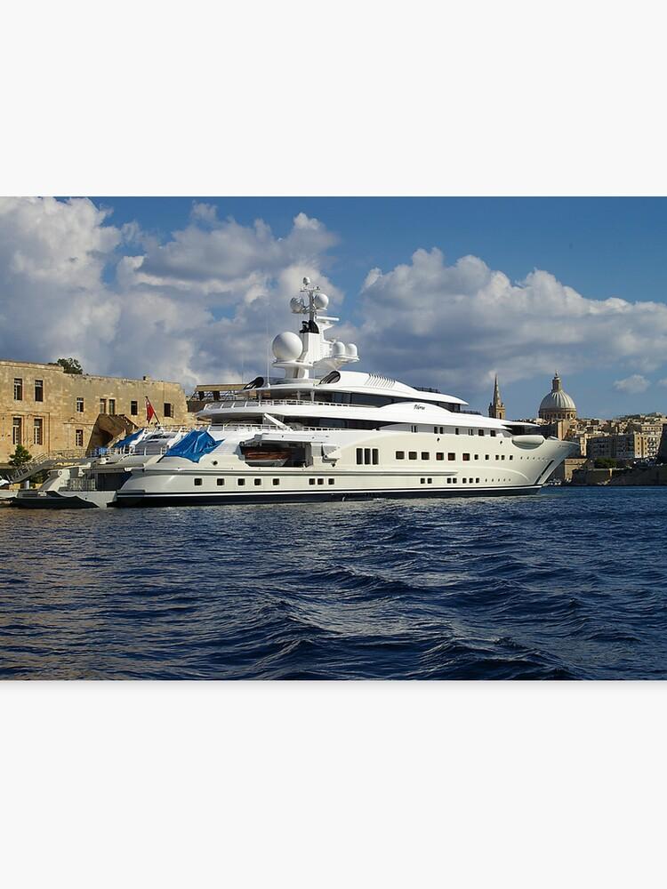 Pelorus Super Yacht Canvas Print