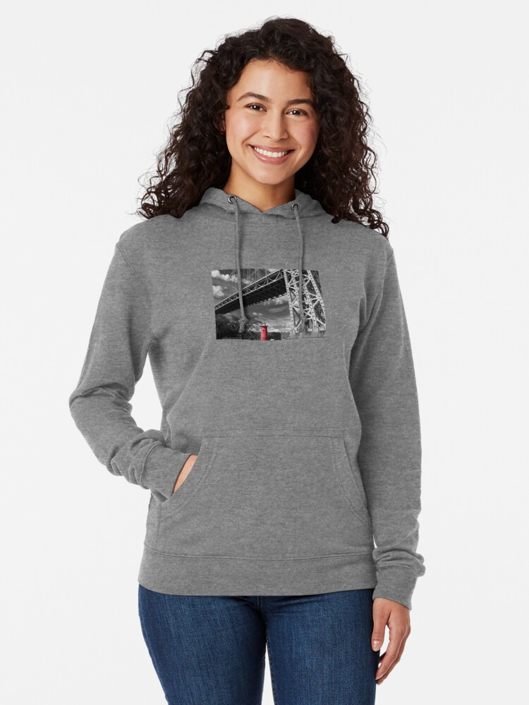 Alternate view of A MIghty Presence Lightweight Hoodie