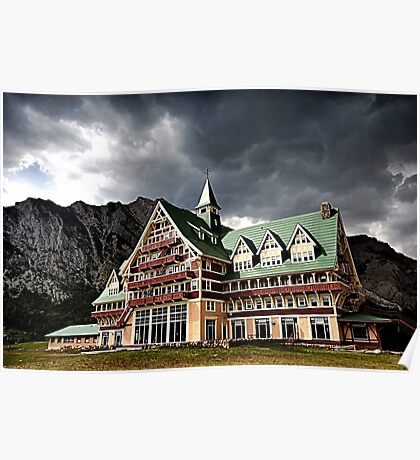 The Prince of Wales Hotel, Waterton Lakes NP Poster