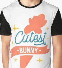 Süßeste Hase Grafik T-Shirt
