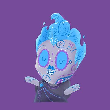 Underworld Muerto - Day of the Dead Sugar Skull by abowersock