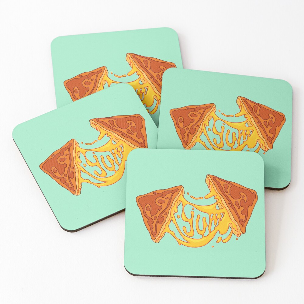 Grilled Cheese Coasters (Set of 4)