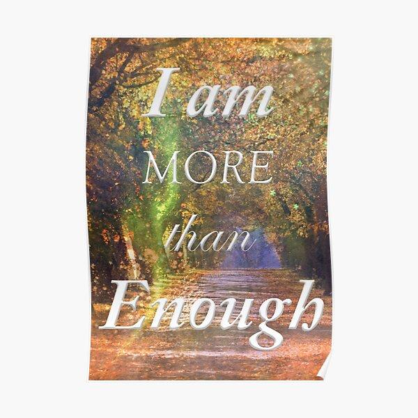 I am more than Enough Poster