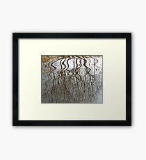 wibbly willow Framed Print