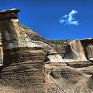 Hoodoos, Drumheller, Alberta, Canada by Teresa Zieba