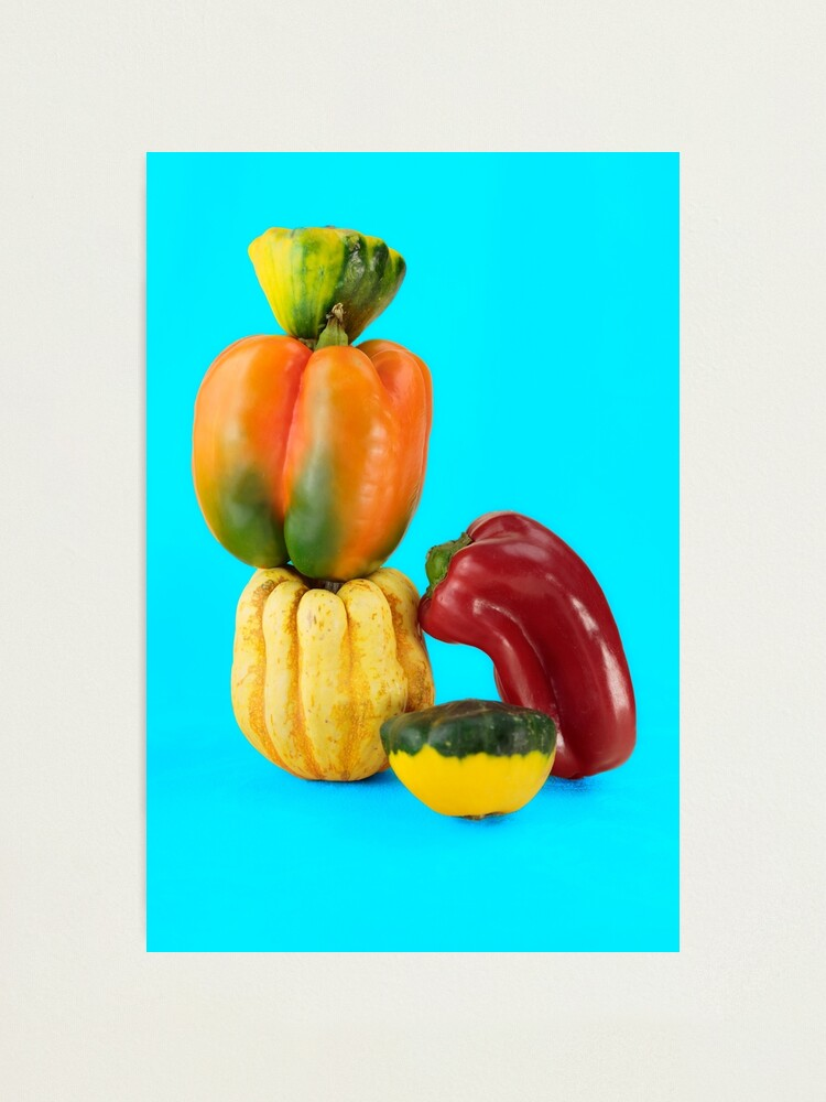 Alternate view of Vegetable tower Photographic Print
