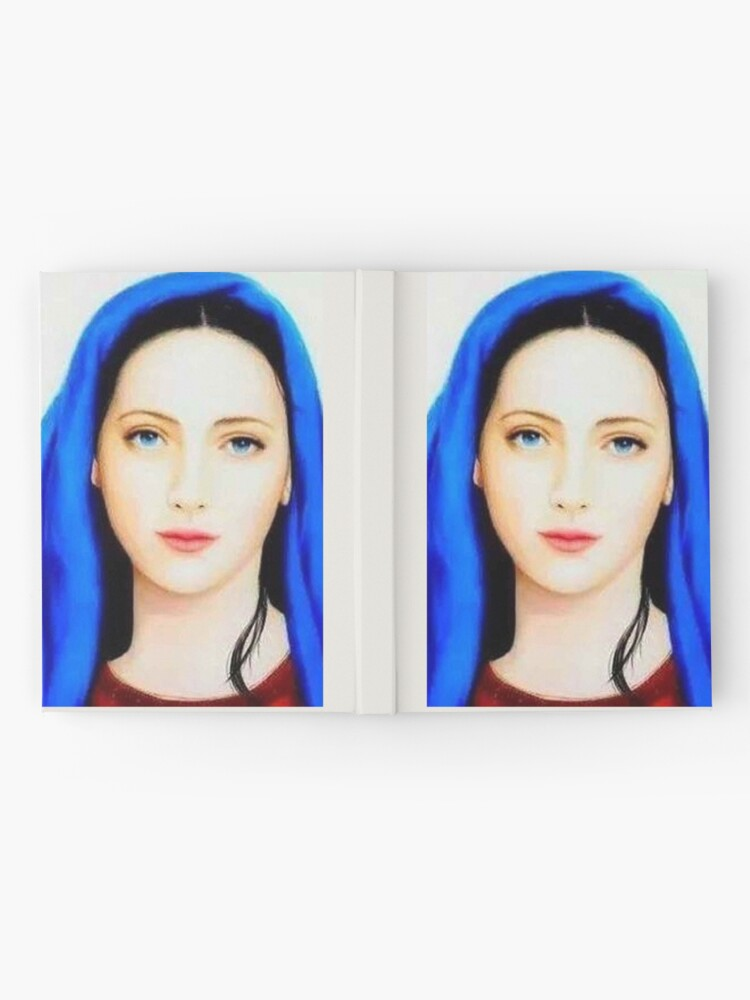 Mother Mary Mother Of Jesus Christ Mother Of God St Mary Beautiful Mother Mary Faith Catholic Christian Hardcover Journal By Love999 Redbubble