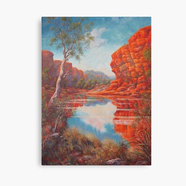 Kimberley Lagoon Canvas Print