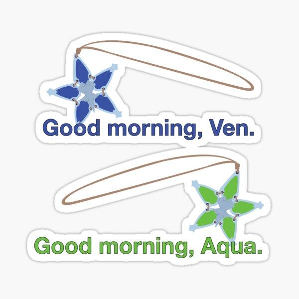 Good Morning - Kingdom Hearts III Sticker